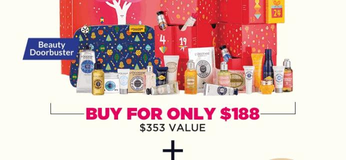 L'Occitane Black Friday Beauty Haul! BOTH Calendars + FREE Gifts – $188!