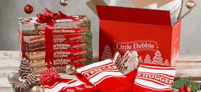 Little Debbie Christmas Tree Cake Hugger Box – Available NOW + Full Spoilers!