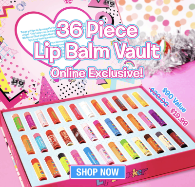 Lip Smacker Black Friday Deal:  Disney 50% Off + Lip Balm Vault!