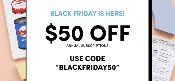 Papirmass Black Friday Deal: Get 50% off on annual subscriptions!