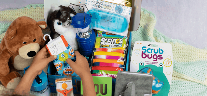 InJoyBox for Kids Cyber Monday Deal: Save 40% on your first box!