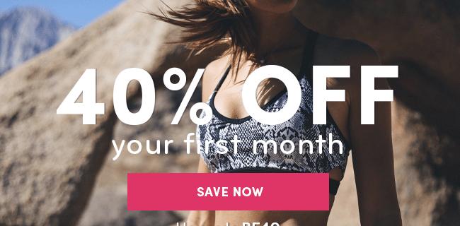 Ellie Black Friday Deal: Get 40% off your first month!