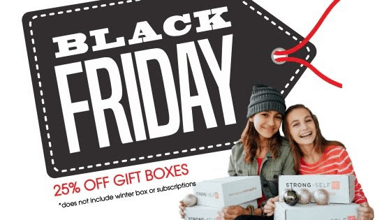 STRONG selfie Black Friday 2019 Sale: Get 25% Off Gift Boxes!