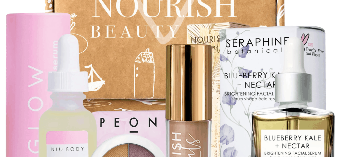 Nourish Beauty Box December 2019 Full Spoilers + Coupon!
