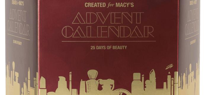 2019 Macy's Beauty Advent Calendar Price Drop – $39.99!