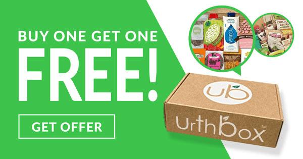 UrthBox Cyber Monday 2019 Deal: Get Free Bonus Box + $10 Off!