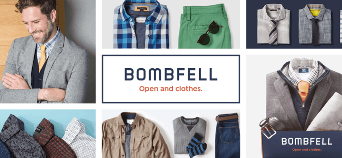 Bombfell Cyber Monday 2019 Deal: Save $30 on First Purchase!