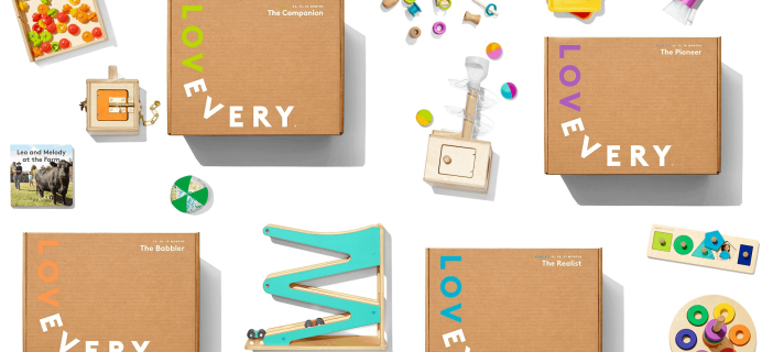 Lovevery Cyber Monday Deal: Get $20 Off $100 Purchase!