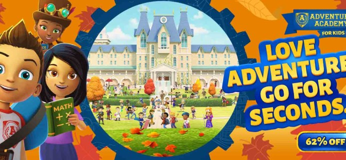 Adventure Academy Cyber Monday 2019: Get 1 Year of Adventure Academy for $45 – Over 60% Off!