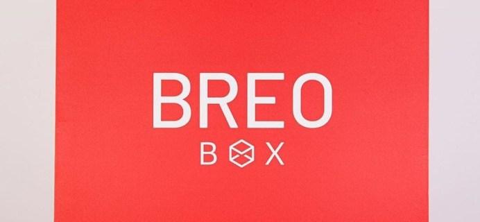 Breo Box Cyber Week Sale: $40 Off First Box!