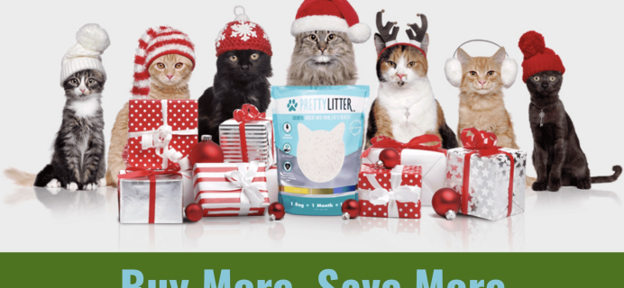 PrettyLitter Cyber Monday Sale: 20% Off + Two FREE Bonus Gifts!