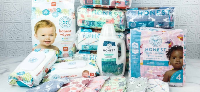 Honest Company Cyber Monday Coupons: 50% Off Diapers + Wipes Bundles + 25% Off Shop!