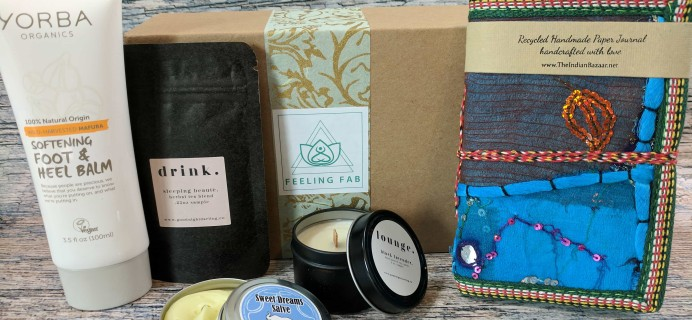 Feeling Fab Box Cyber Monday Deal: Save 30% on subscriptions!