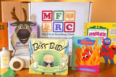 My First Reading Club Cyber Monday Deal: Save 30% on kids' book subscriptions!