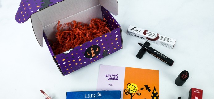 Lipstick Junkie Cyber Monday Deal: First Box in Lippie Subscription just $5!