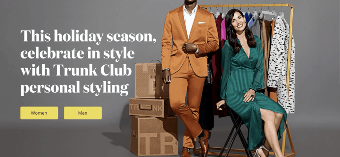 Trunk Club Cyber Monday Coupon: Get Up To $100 Trunk Club Credits!