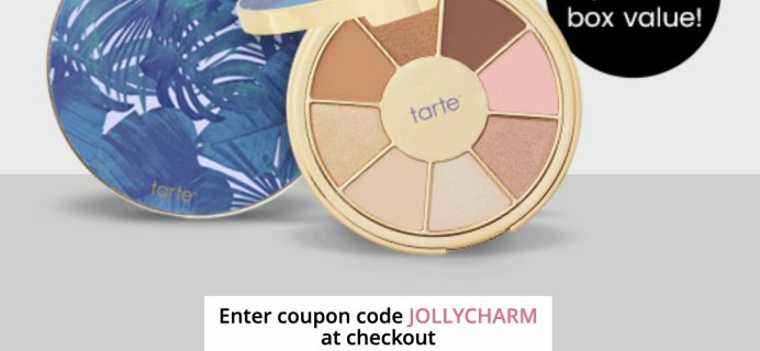 BOXYCHARM Coupon: FREE Tarte Palette with December 2019 Box!