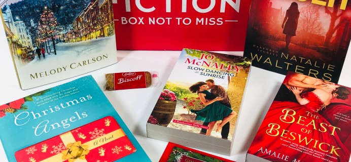 Fresh Fiction Box December 2019 Subscription Box Review + Coupon