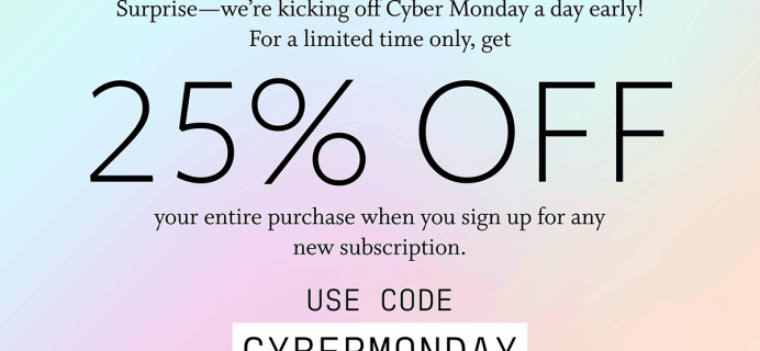 Function of Beauty Cyber Monday Sale: Save 25% on All Subscriptions + Add-Ons!