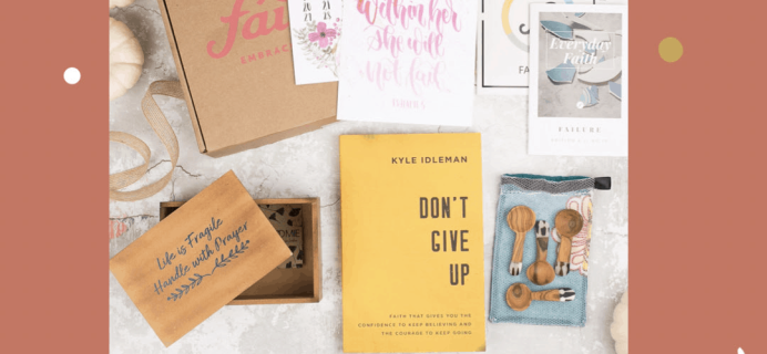 Faithbox Cyber Monday 2019 Coupon: Get 50% Off Your First Box!