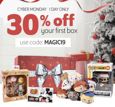 Walt Life Disney Box Subscription Cyber Monday Sale: Get 30% Off! ONE DAY ONLY
