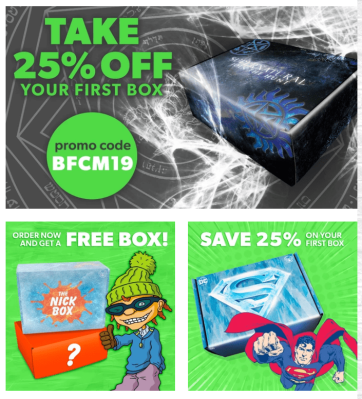 Culturefly Subscription Boxes Cyber Monday Sale: Save 25% Off & FREE Boxes!