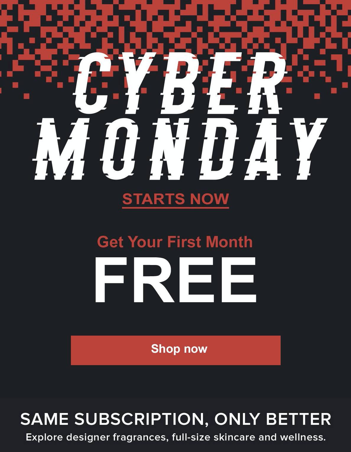 Scentbird Cyber Monday Deal First Month Free Just Pay 3 Shipping Hello Subscription