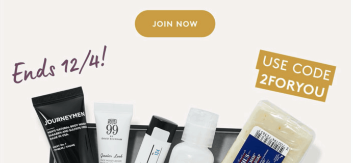 Birchbox Grooming Cyber Monday Deal: FREE Extra Grooming Box with Subscription!