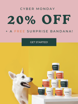Goodboy Cyber Monday 2019 Coupon: Get 20% Off + FREE Surprise Bandana!