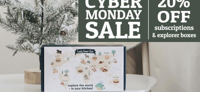 eat2explore Cyber Monday Deal: Save 20% on Subscriptions & Explorer Boxes!