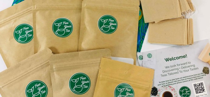 Free Your Tea November 2019 Subscription Box Review + Coupon
