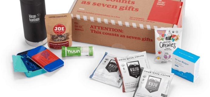 REI Co-op Stocking Stuffer Supply Box Available Now!