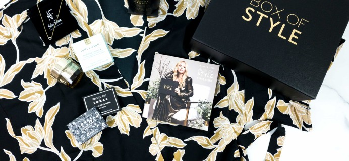 Box of Style by Rachel Zoe Winter 2019 Review + Coupon