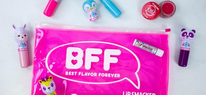 Lipsmacker BFF Lip Balm Winter 2019 Subscription Box Review