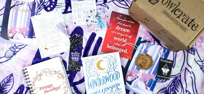 OwlCrate November 2019 Subscription Box Review + Coupon