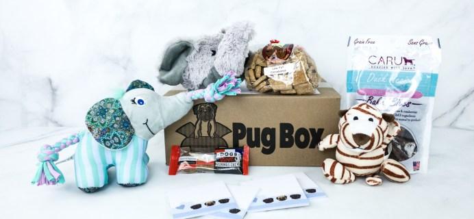 Pug Box November 2019 Subscription Box Review + Coupon!