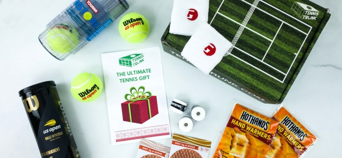 Tennis Trunk November 2019 Subscription Box Review & Coupon