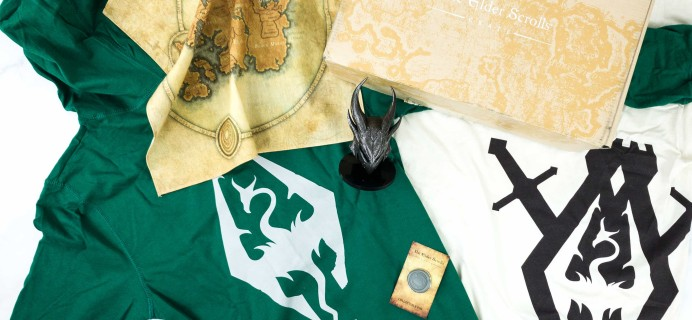 Loot Crate's The Elder Scrolls Crate August 2019 Review + Coupon – QUEST