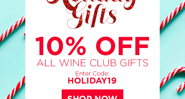 Plonk Wine Club Holiday Deal: Save 10% on all wine club gifts!