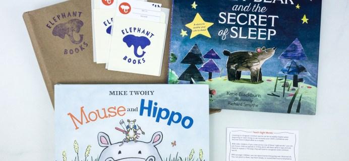 Elephant Books December 2019 Subscription Box Reviews – PICTURE BOOKS