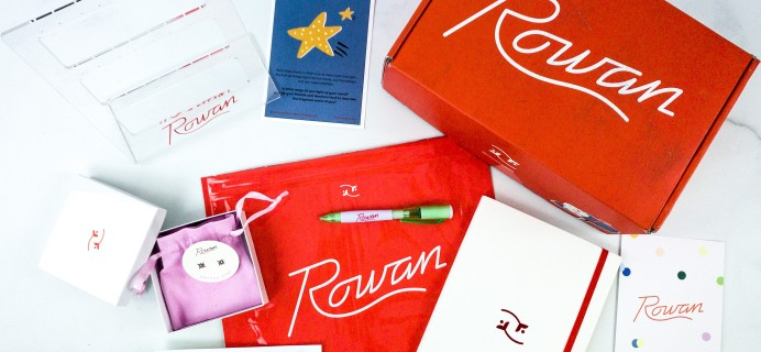 Rowan Earring Club November 2019 Subscription Box Review