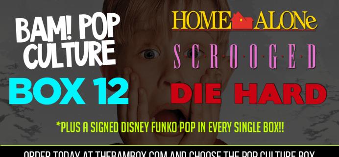 The BAM! Pop Culture Box December 2019 Spoilers UPDATE!