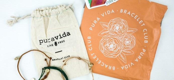 Pura Vida Monthly Bracelets Club November 2019 + Coupon!