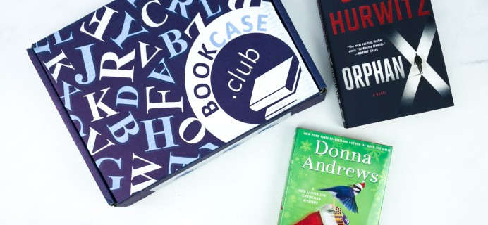 BookCase Club December 2019 Subscription Box Review & 50% Off Coupon – Thrill Seeker Case!