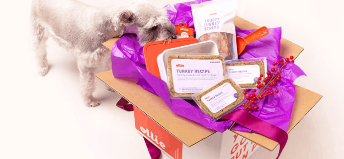 Ollie Dog Food Subscription: Better Than Holiday Food + 50% Off Coupon & More!