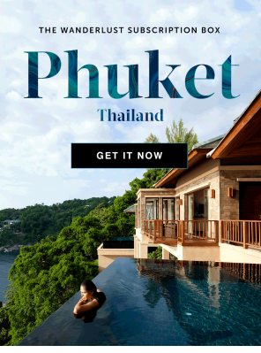 The Wanderlust Box Winter 2019 Box Theme Spoilers + Coupon – Phuket Edition!