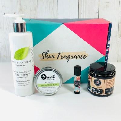 Shun Fragrance December 2019 Subscription Box Review + Coupon