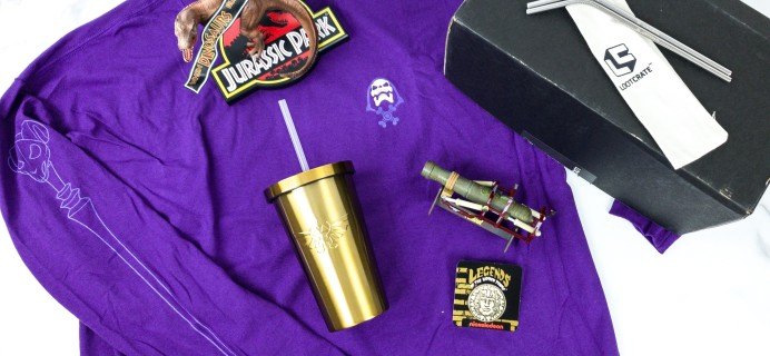 Loot Crate DX August 2019 Subscription Box Review & Coupon