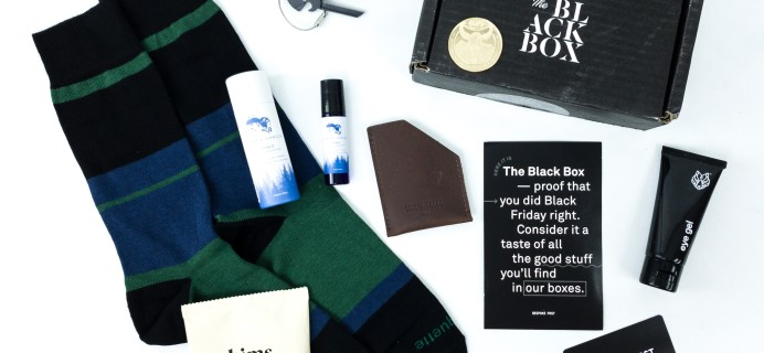 2019 Bespoke Post Black Friday Premium Black Box Review