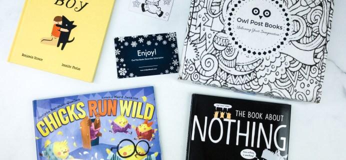 Owl Post Books Imagination Box December 2019 Subscription Box Review